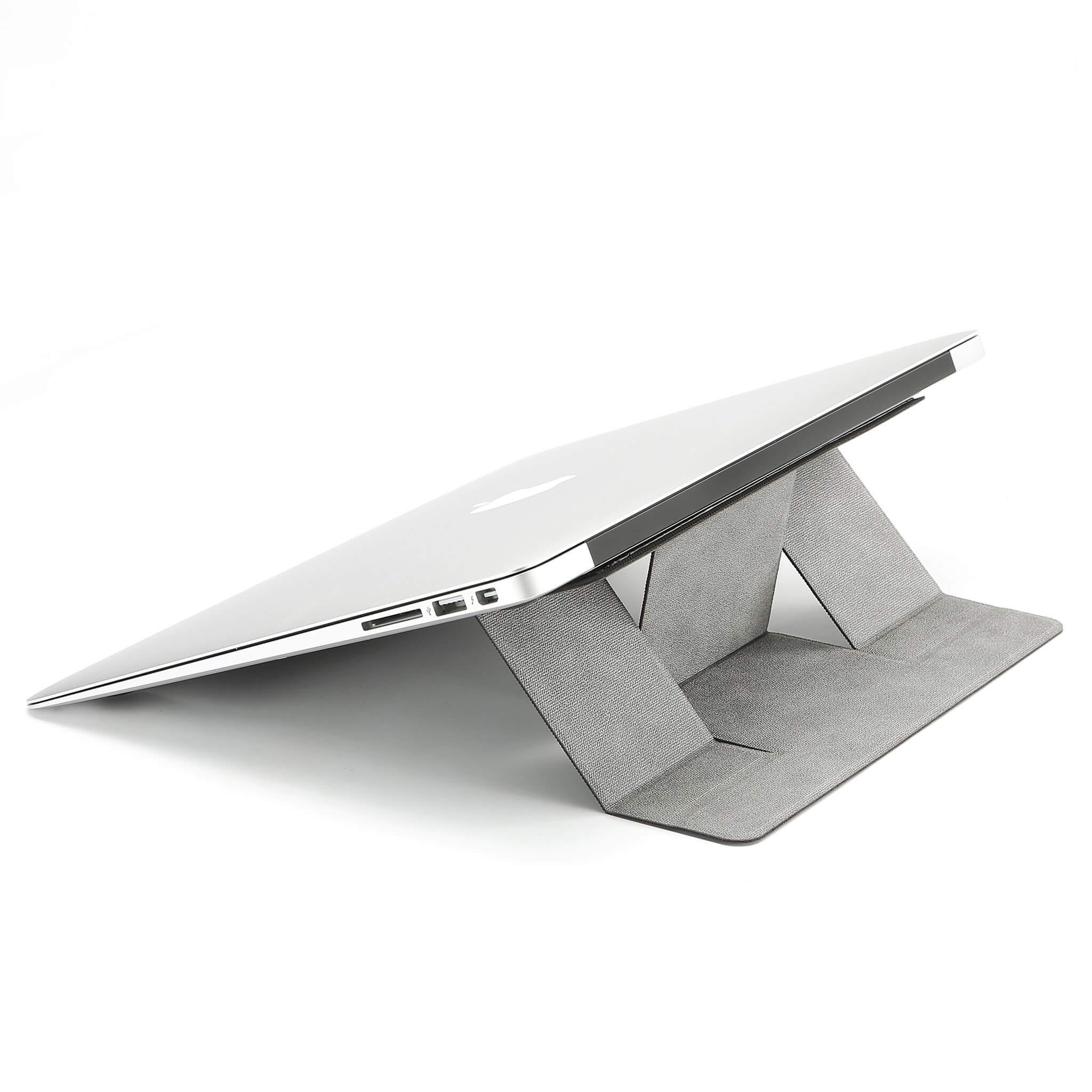 yeni nesil laptop standı gri